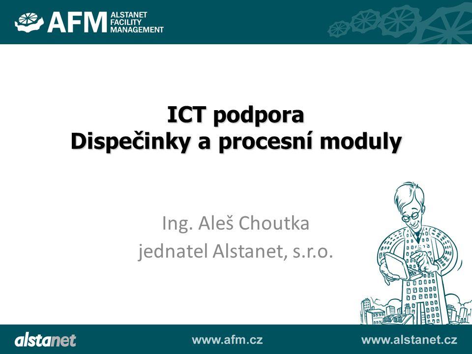 Dispečinky a procesní moduly