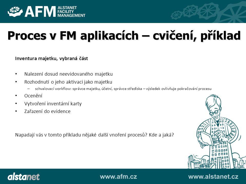 Proces v FM aplikacích – cvičení, příklad