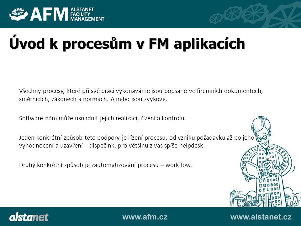 Úvod k procesům v FM aplikacích