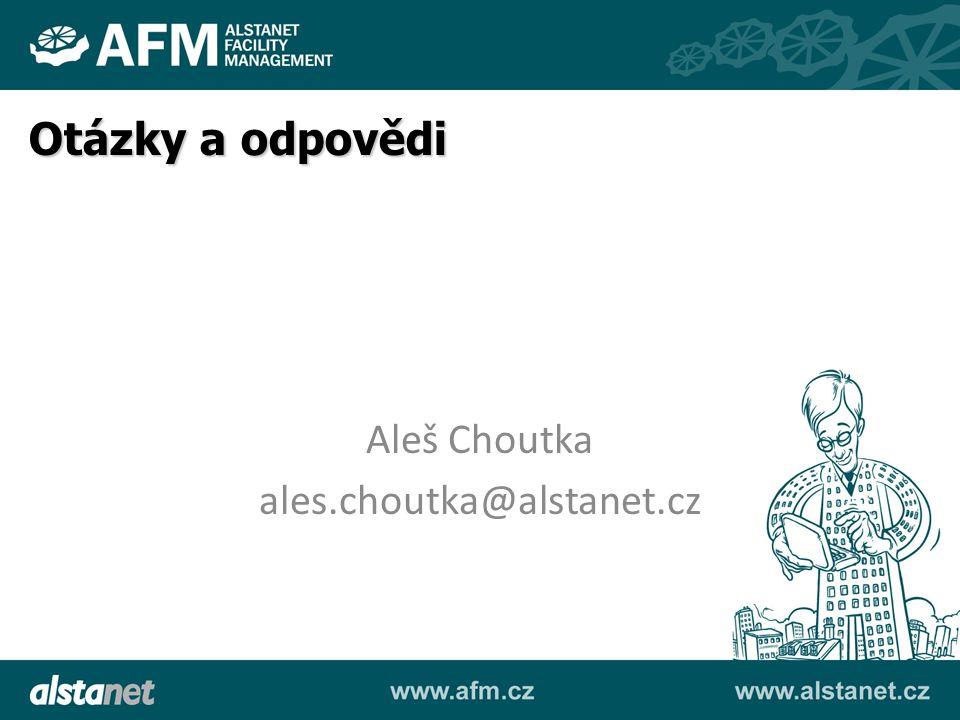 Otázky a odpovědi Aleš Choutka ales.choutka@alstanet.cz
