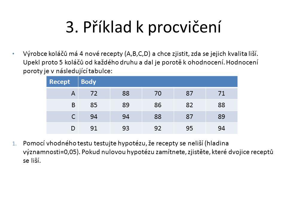 3. Příklad k procvičení
