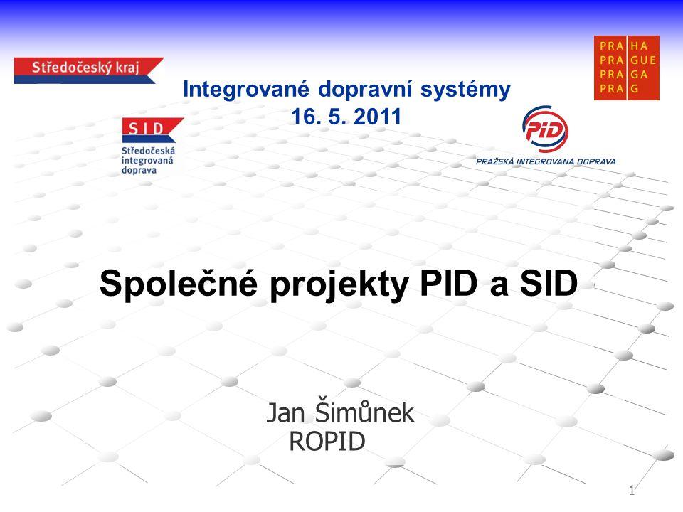 Společné projekty PID a SID