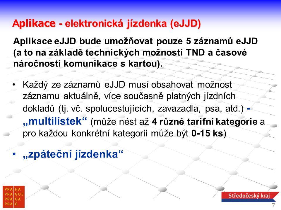 """""""zpáteční jízdenka Aplikace - elektronická jízdenka (eJJD)"""