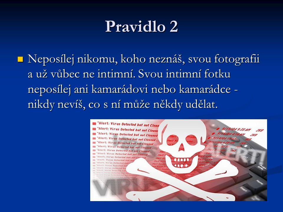 Pravidlo 2