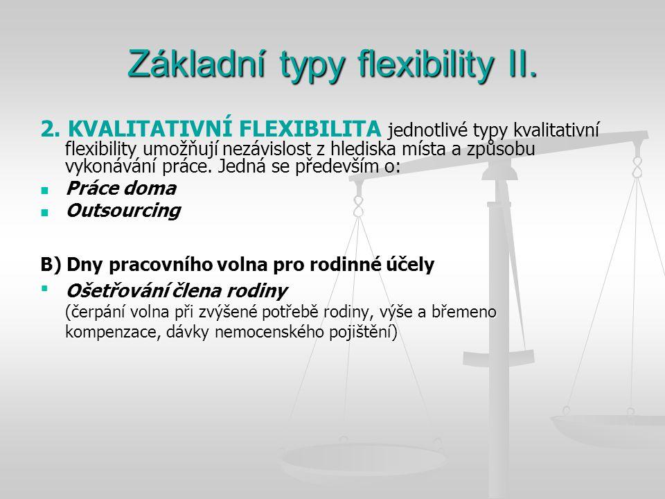 Základní typy flexibility II.