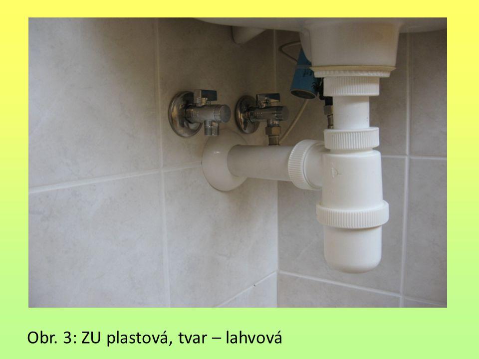 Obr. 3: ZU plastová, tvar – lahvová