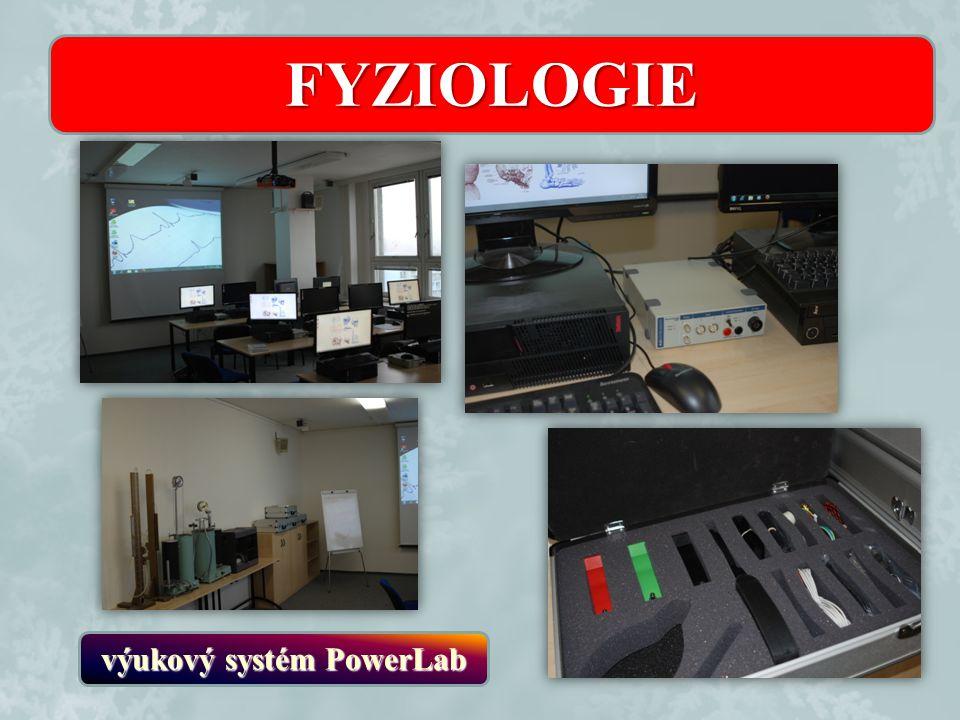 výukový systém PowerLab