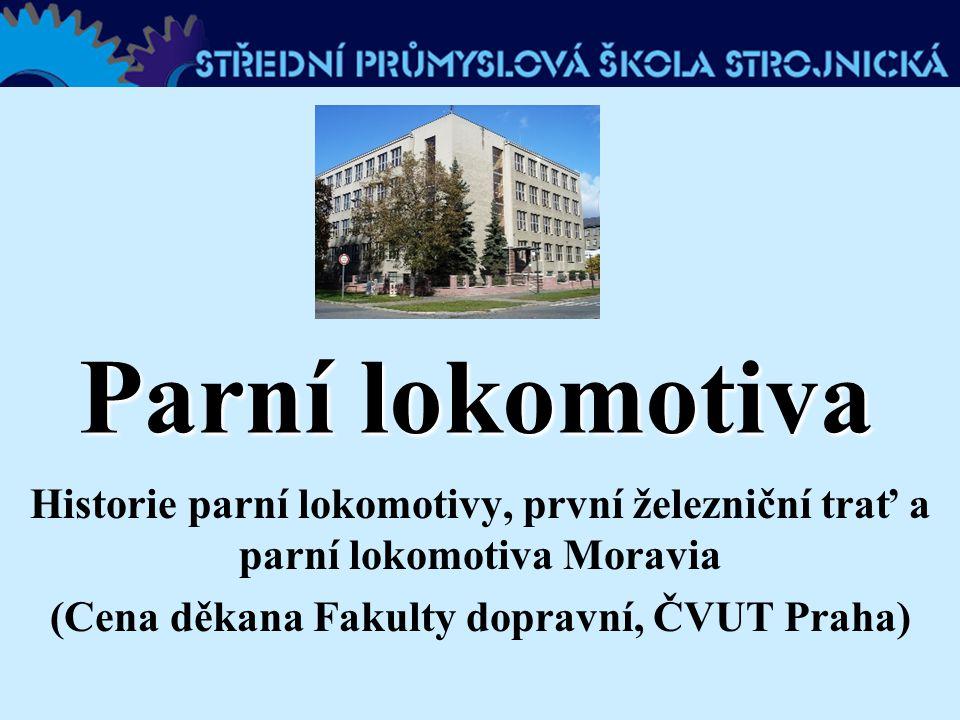 (Cena děkana Fakulty dopravní, ČVUT Praha)