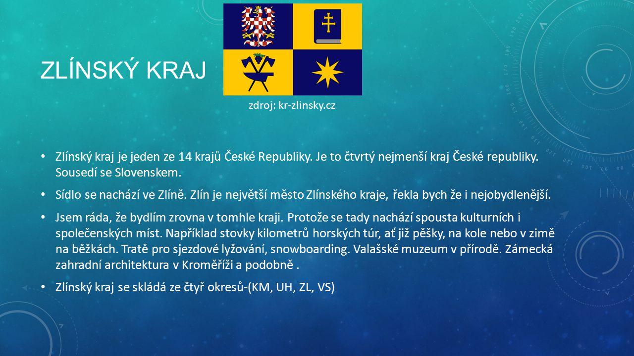 Zlínský kraj zdroj: kr-zlinsky.cz.