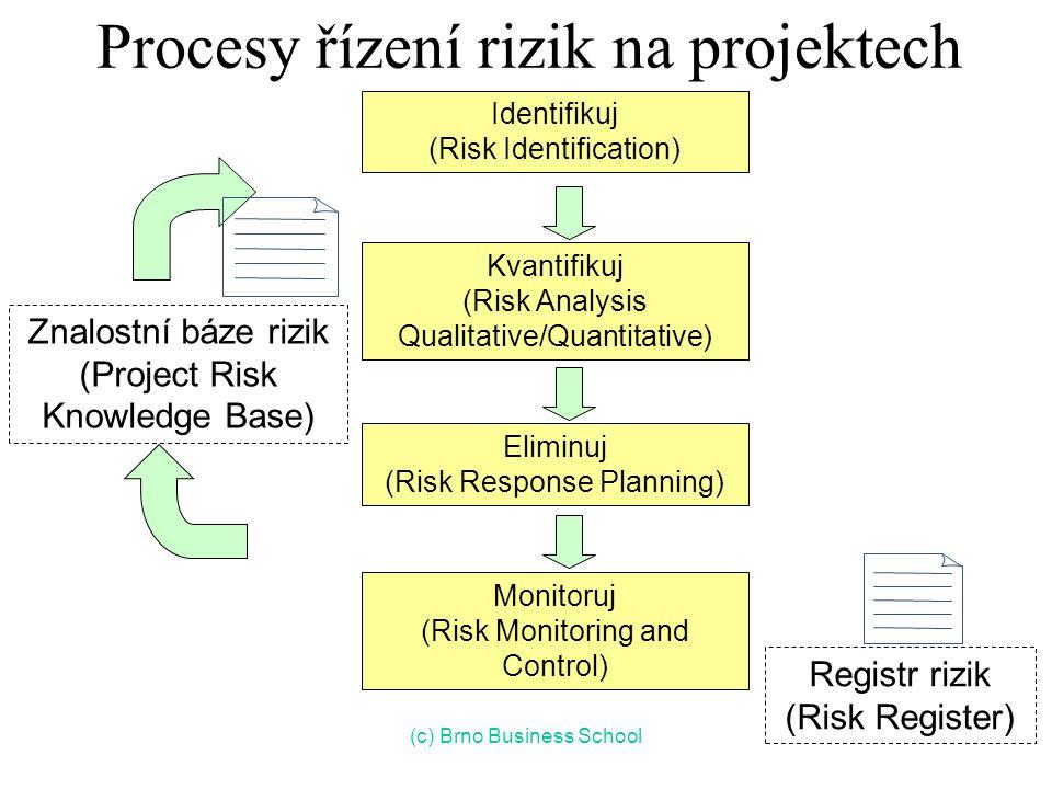 Procesy řízení rizik na projektech