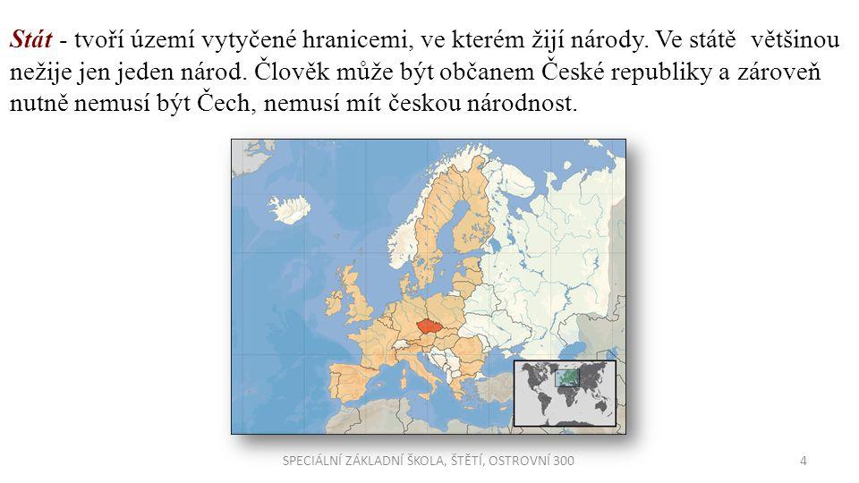 SPECIÁLNÍ ZÁKLADNÍ ŠKOLA, ŠTĚTÍ, OSTROVNÍ 300