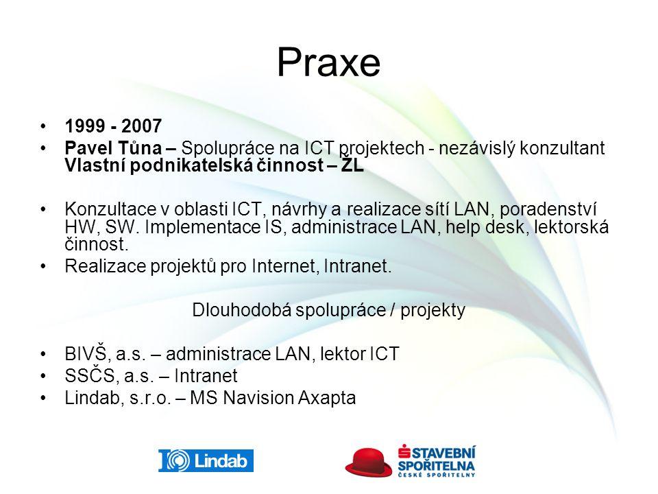 Dlouhodobá spolupráce / projekty