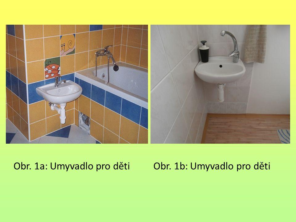 Obr. 1a: Umyvadlo pro děti