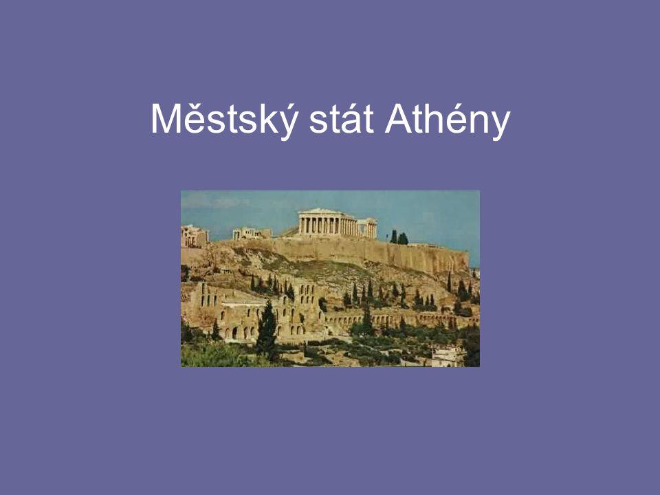 Městský stát Athény