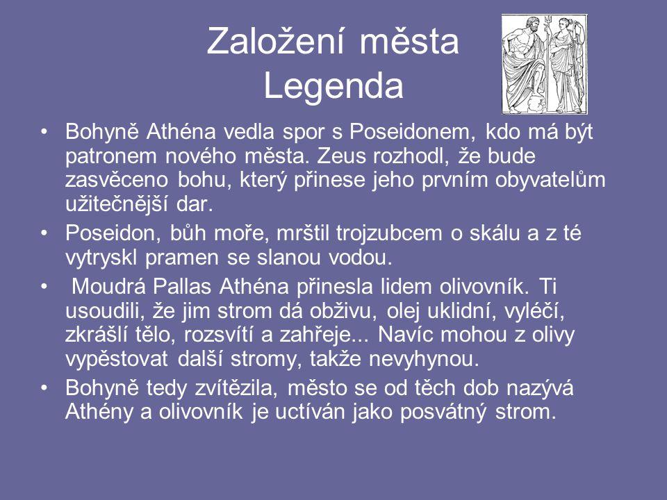 Založení města Legenda