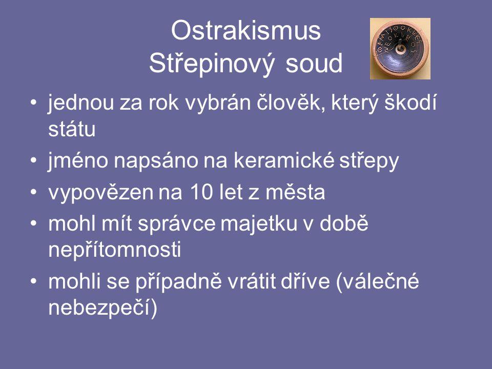 Ostrakismus Střepinový soud