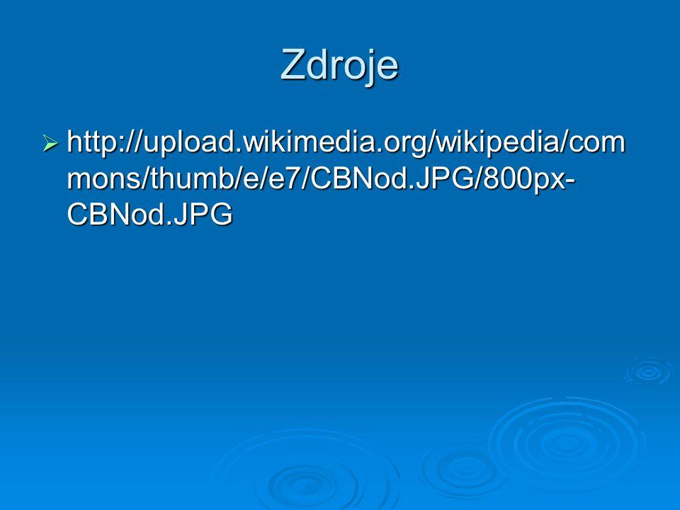 Zdroje http://upload.wikimedia.org/wikipedia/commons/thumb/e/e7/CBNod.JPG/800px-CBNod.JPG