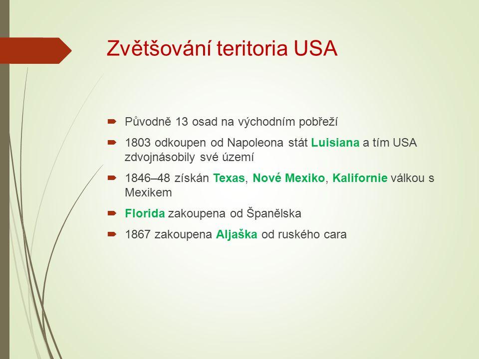 Zvětšování teritoria USA