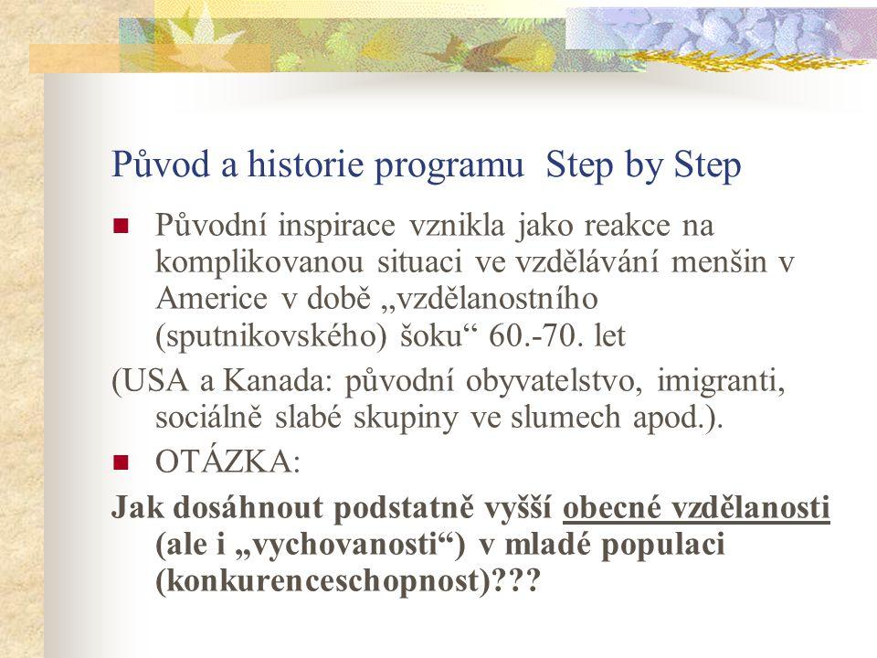 Původ a historie programu Step by Step