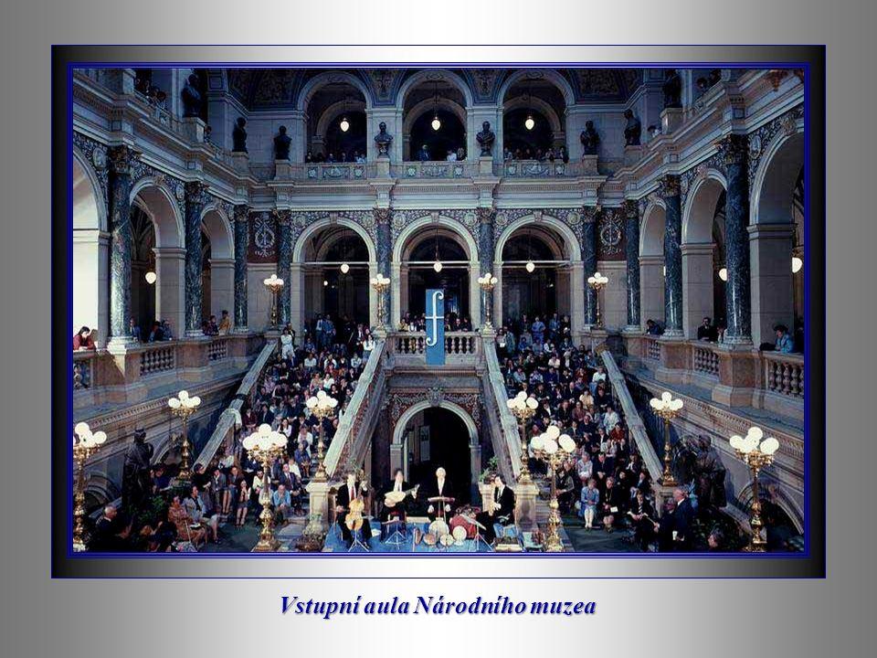 Vstupní aula Národního muzea