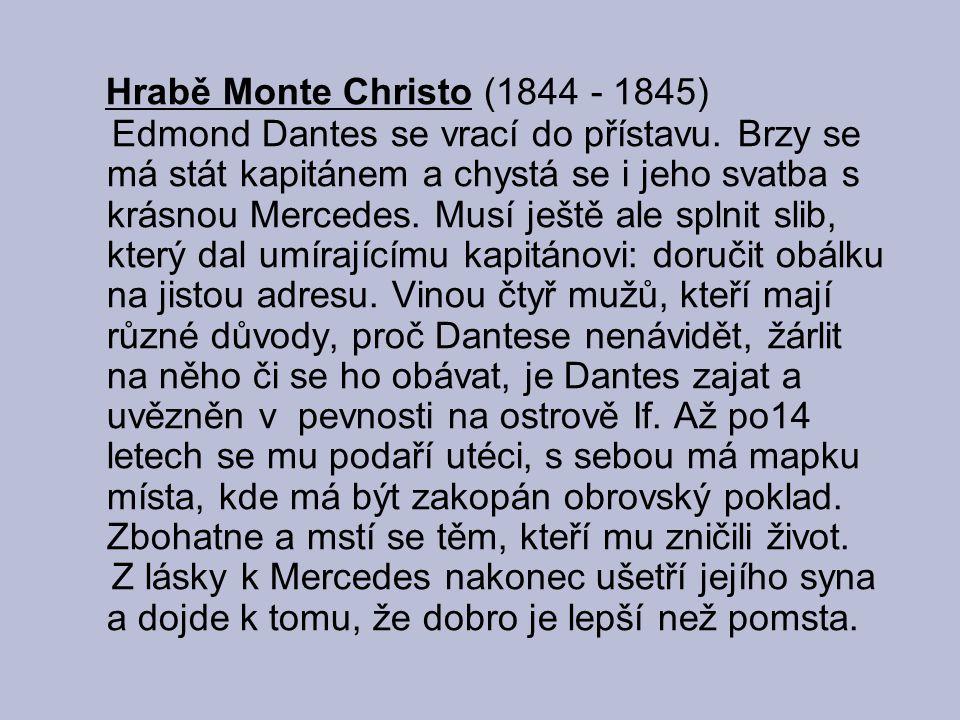 Hrabě Monte Christo (1844 - 1845)