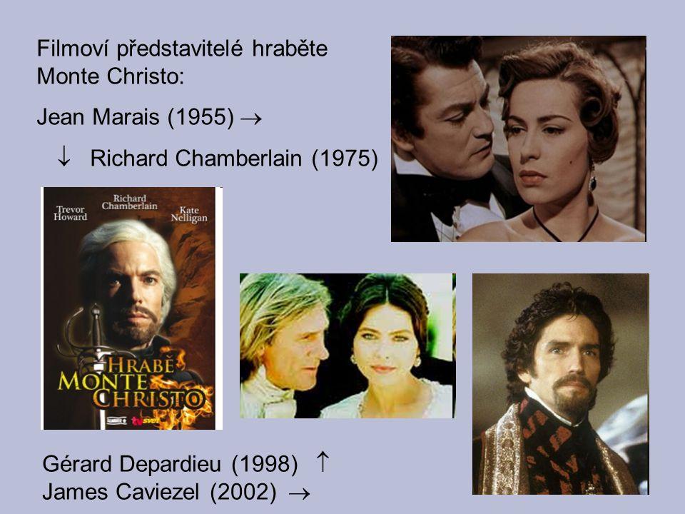 Filmoví představitelé hraběte Monte Christo: Jean Marais (1955) 