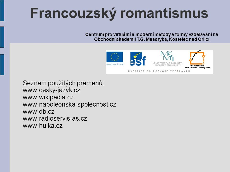 Francouzský romantismus
