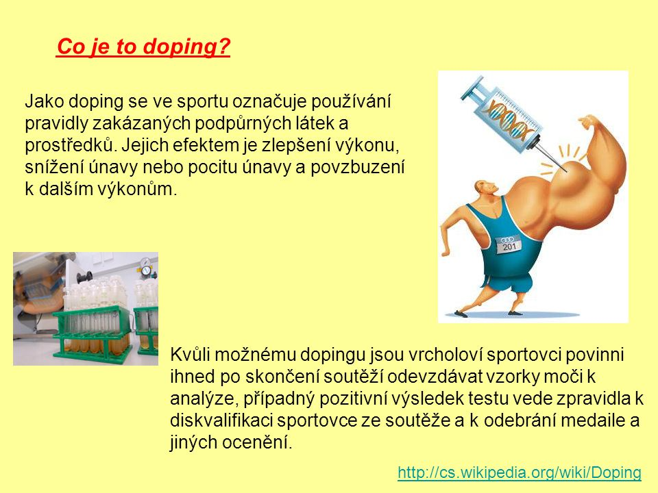 Co je to doping
