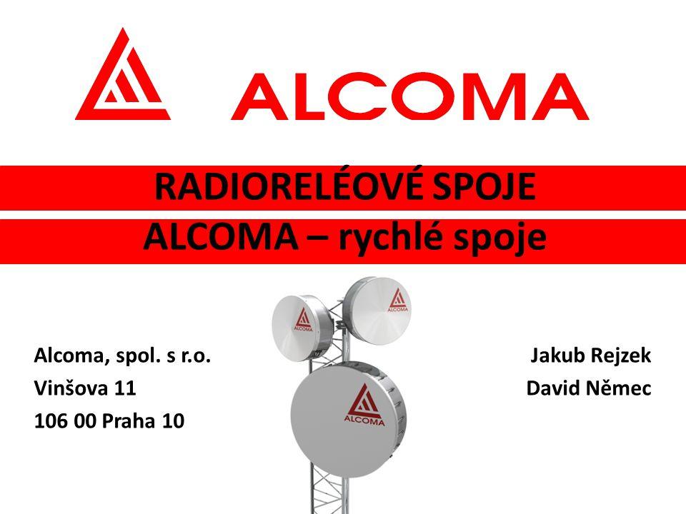 Radioreléové spoje ALCOMA – rychlé spoje