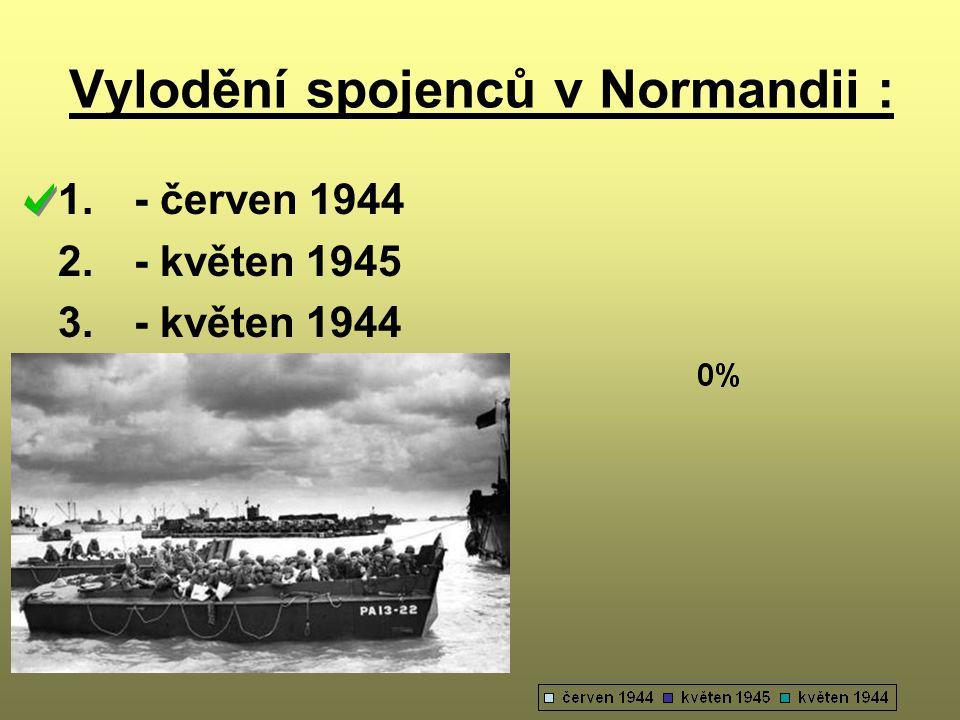Vylodění spojenců v Normandii :