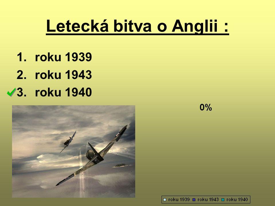 Letecká bitva o Anglii :