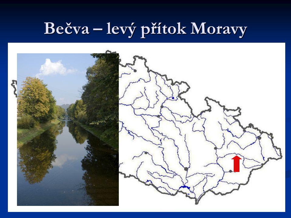 Bečva – levý přítok Moravy