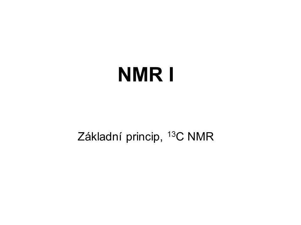 NMR I Základní princip, 13C NMR