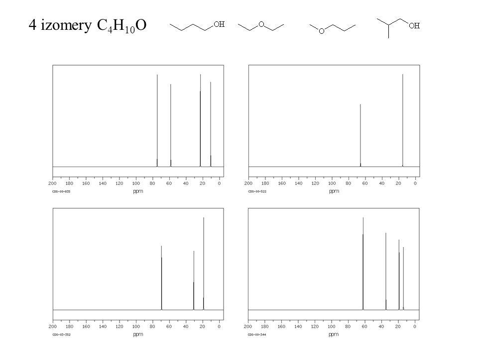 4 izomery C4H10O