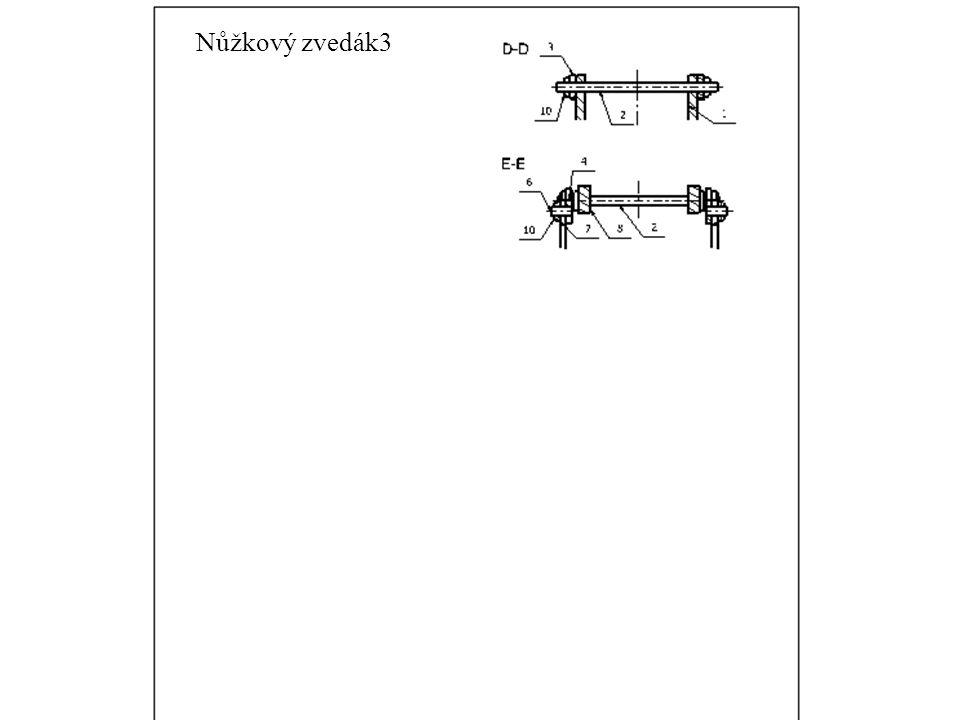 Nůžkový zvedák3 Nůžkový zvedák3