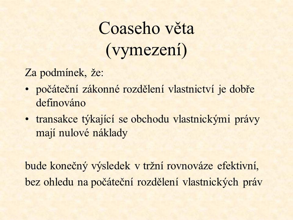 Coaseho věta (vymezení)