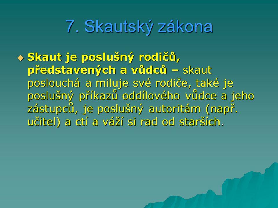 7. Skautský zákona