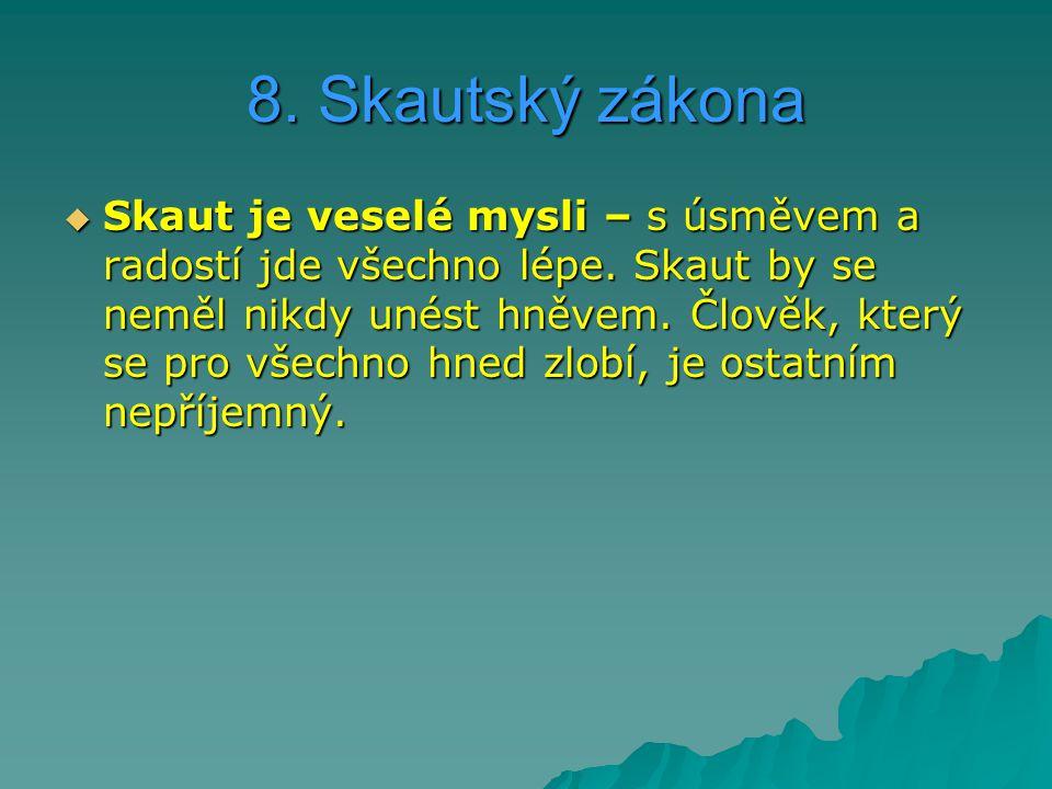 8. Skautský zákona