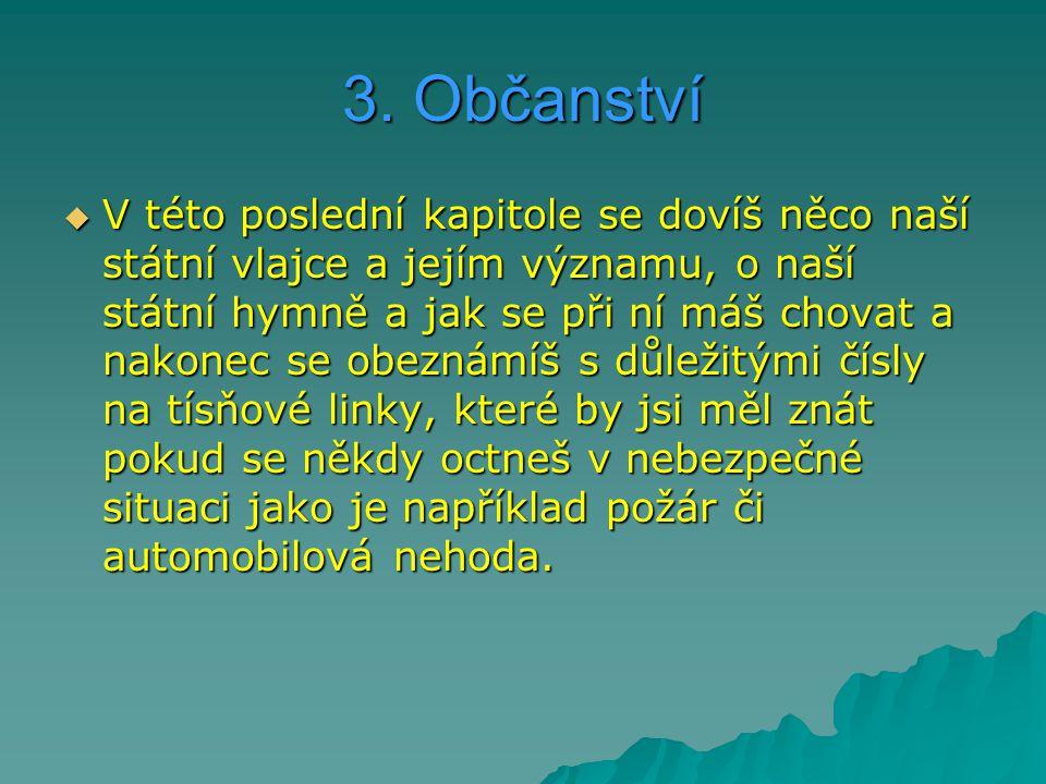 3. Občanství