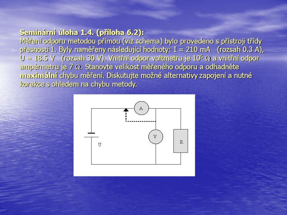 Seminární úloha 1.4. (příloha 6.2):
