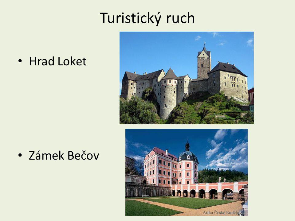 Turistický ruch Hrad Loket Zámek Bečov