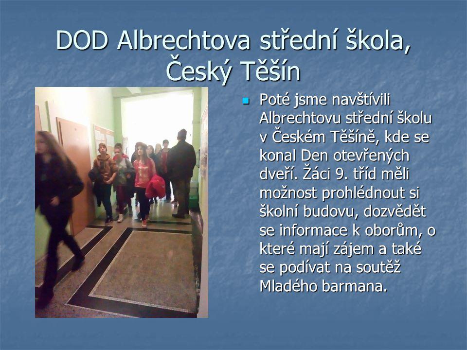 DOD Albrechtova střední škola, Český Těšín