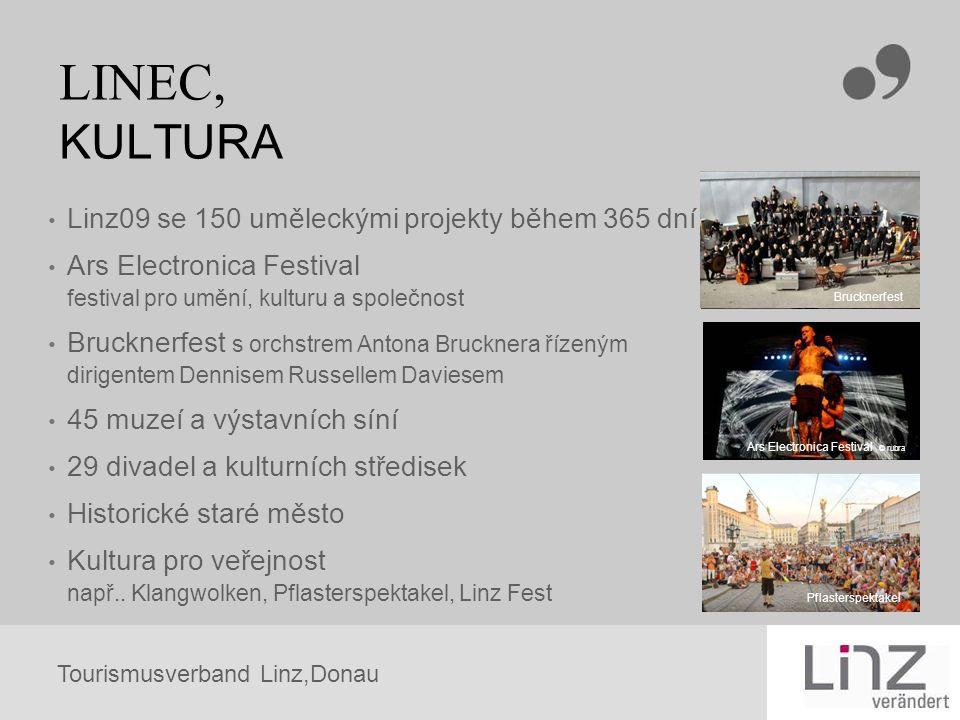 LINEC, KULTURA Linz09 se 150 uměleckými projekty během 365 dní