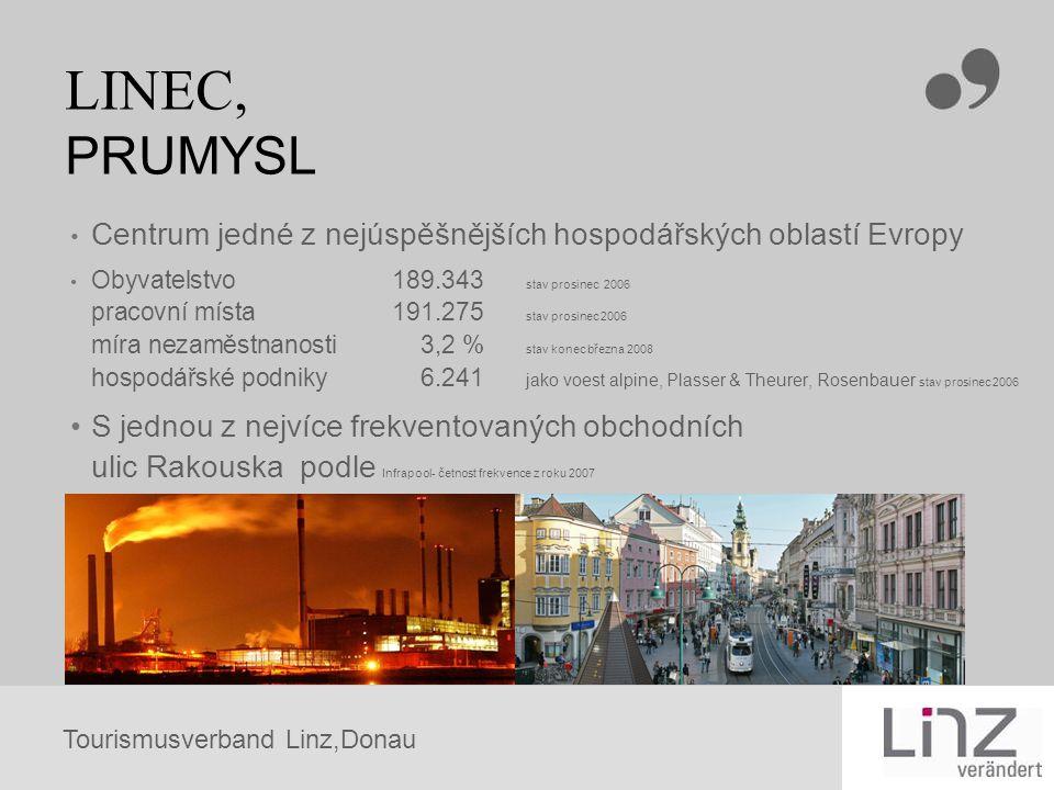 LINEC, PRUMYSL Centrum jedné z nejúspěšnějších hospodářských oblastí Evropy.
