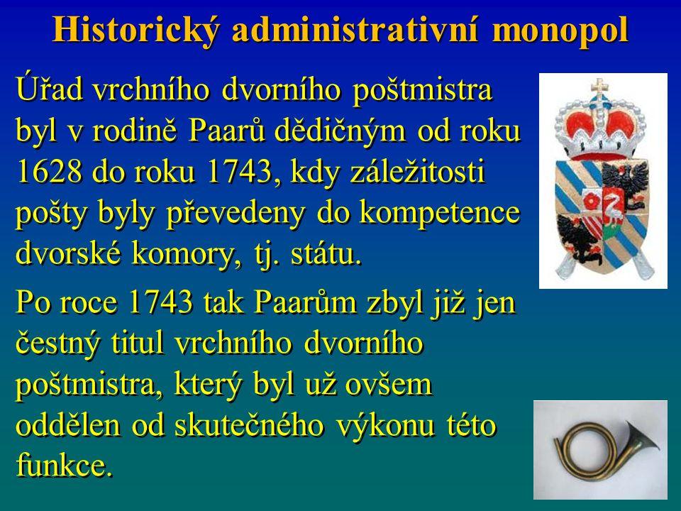 Historický administrativní monopol