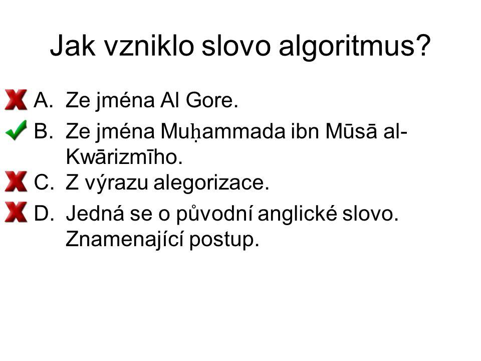 Jak vzniklo slovo algoritmus
