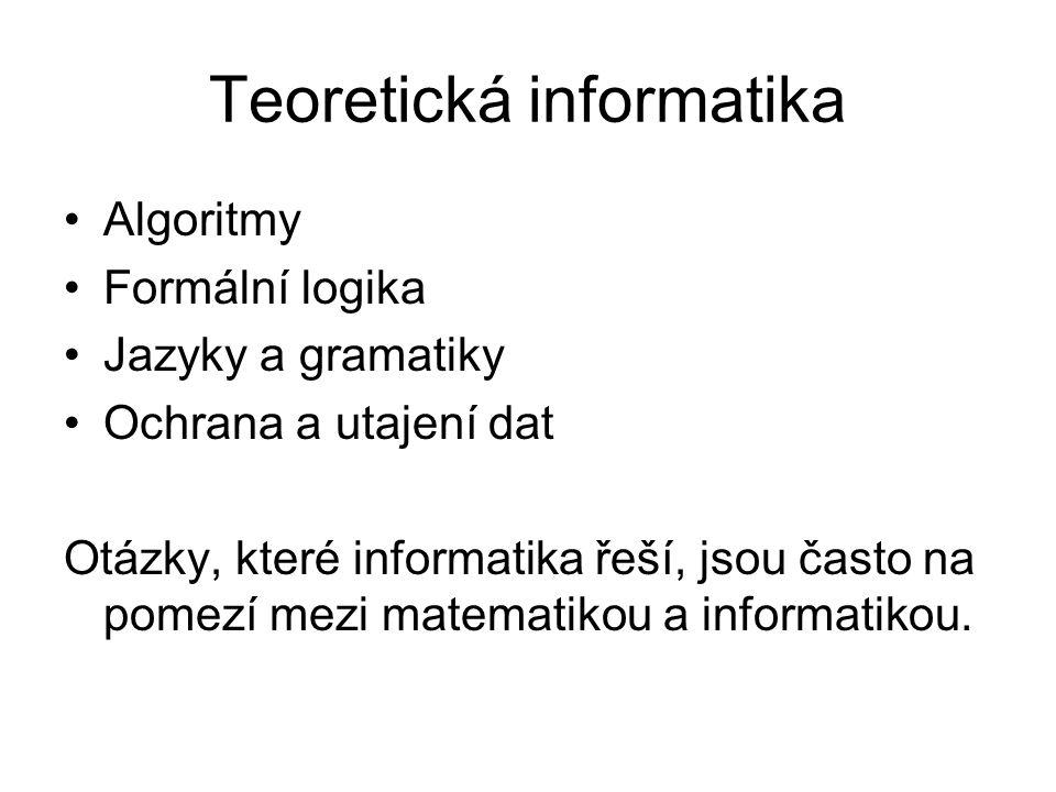 Teoretická informatika
