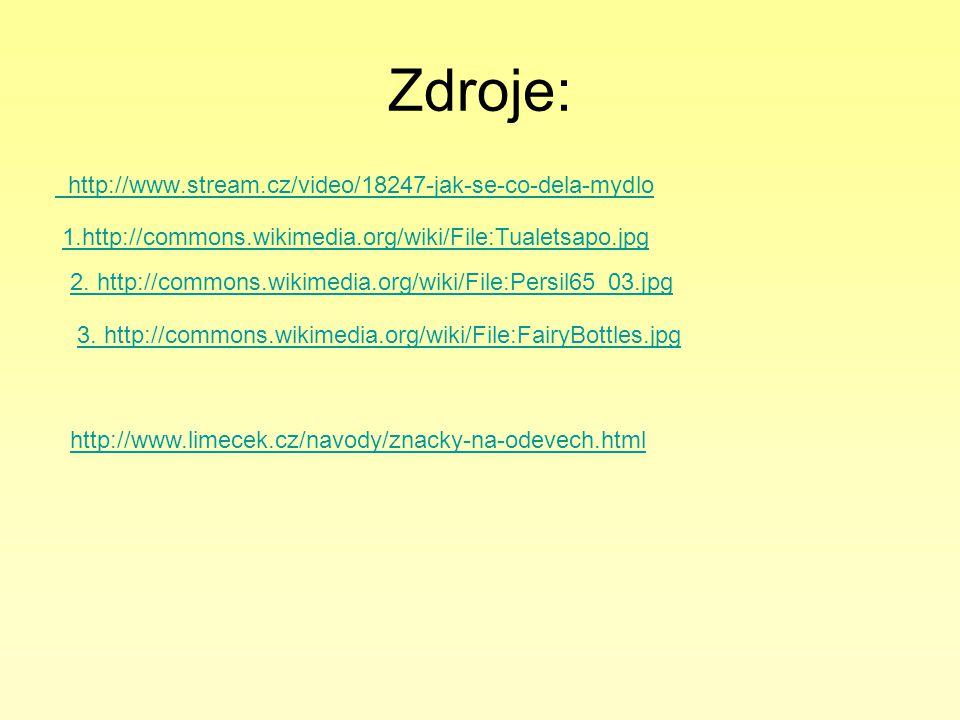 Zdroje: http://www.stream.cz/video/18247-jak-se-co-dela-mydlo
