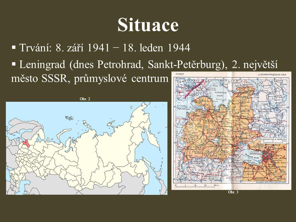 Situace Trvání: 8. září 1941 − 18. leden 1944