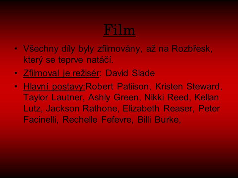 Film Všechny díly byly zfilmovány, až na Rozbřesk, který se teprve natáčí. Zfilmoval je režisér: David Slade.